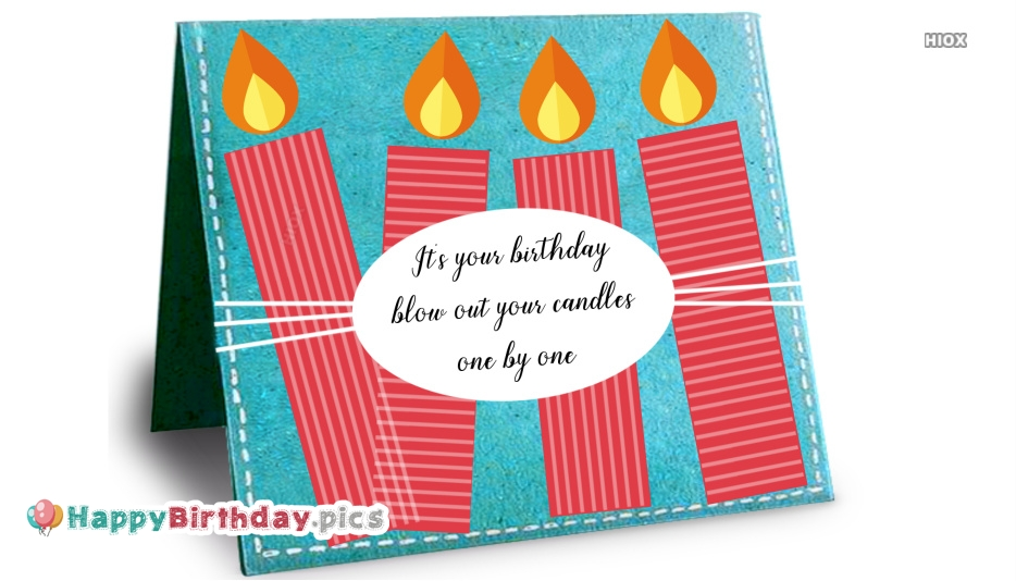 Birthday Wishes With Candles