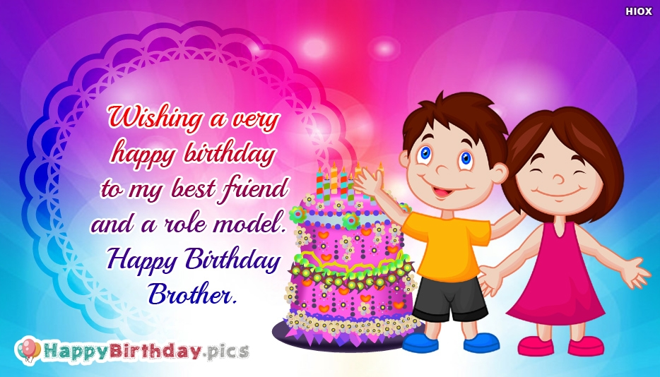 Happy Birthday Brother Greetings