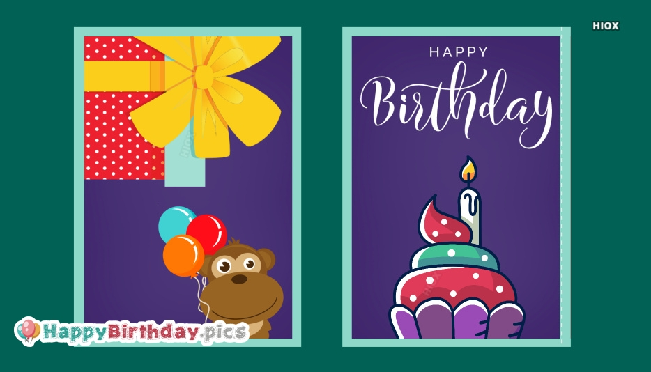 Cartoon Happy Birthday Images, Pictures