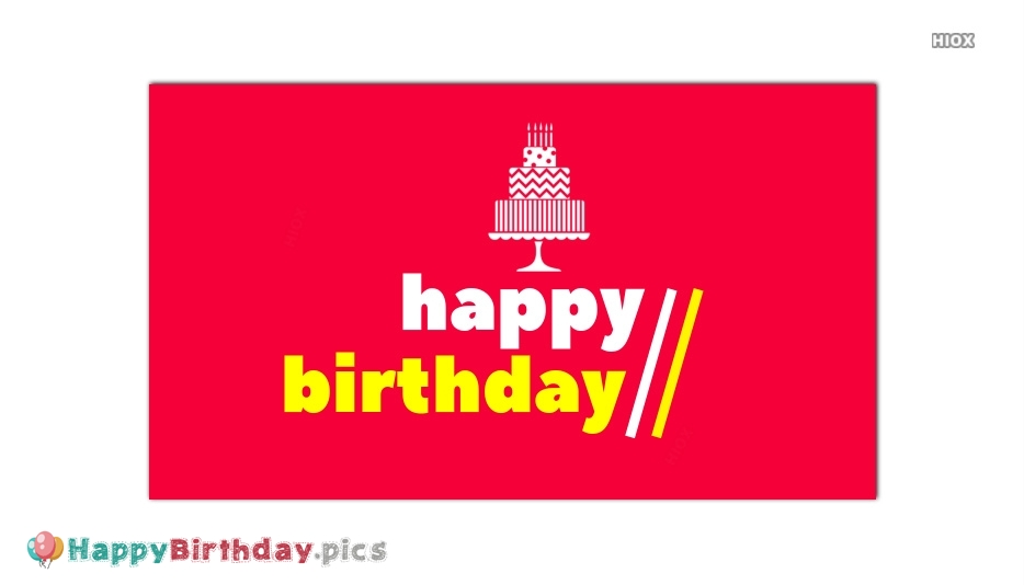 Happy Birthday Cards Images