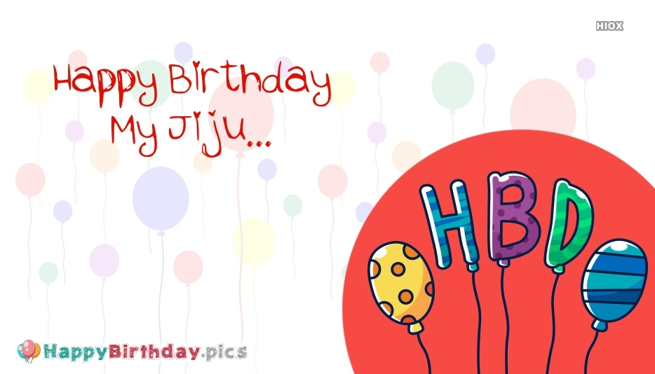 Happy Birthday My Jiju