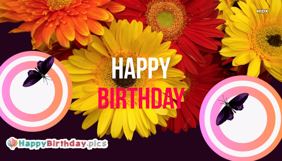 Happy Birthday Nature Images Wishes Quotes