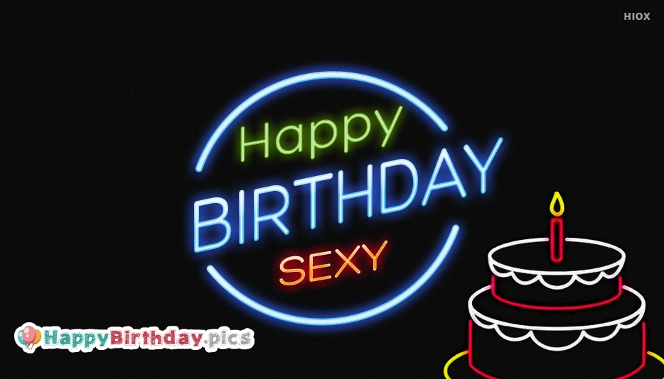 Happy Birthday Sexy Image