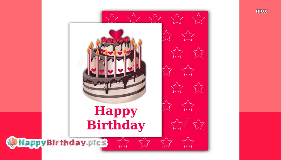 Cake Happy Birthday Images, Pictures