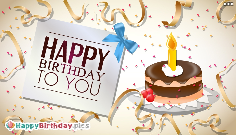 Happy Birthday To You Lovely Greetings