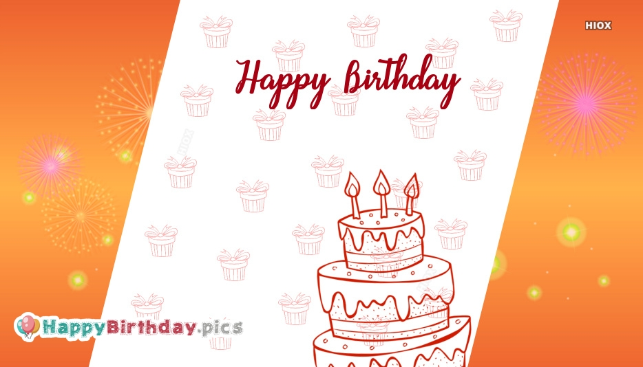 Candle Cake Happy Birthday Images, Pictures
