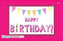 Happy Birthday To You Wallpaper