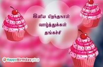Birthday Wishes For Thangachi In Tamil
