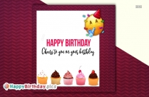 Happy Birthday Wishes With Gift