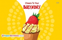 Cheers To Your Birthday Images