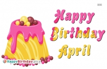 Happy Birthday April