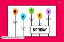 Happy Birthday FB Status Image