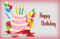 Happy Birthday To You Male