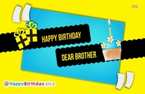 Happy Birthday Images To Brother