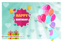 Happy Birthday Balloon Images