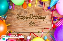 Happy Birthday Images To Sir