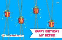 Happy Birthday To My Dear Friend Images