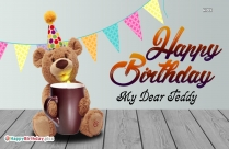 Happy Birthday My Teddy