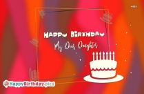 Happy Birthday To You Daughter