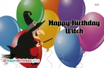 Happy Birthday Witch