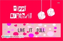 Happy Birthday With Quotes