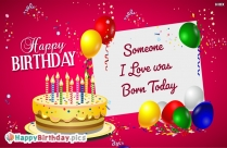 Happy Birthday Greeting sor Special Someone