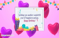 Wishes For Happiness And Joy